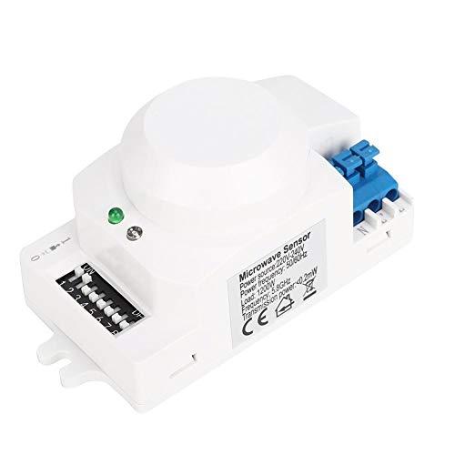 Mumusuki SK-600 Sensore Radar a microonde 360 ° Sensore di Movimento del Corpo Interruttore Luce Sensore Automatico Canale 220-240V