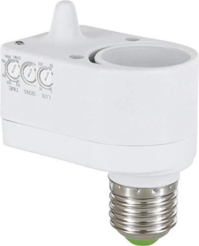 Sensore di movimento HF a 360° – adatto a LED – Adattatore da E27 a E27 – Montaggio in luci